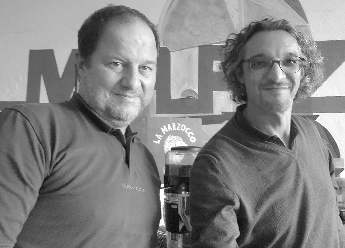 Pasquale de Falco und David Traens