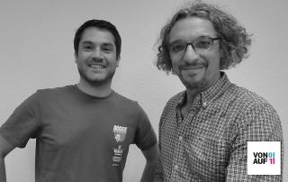 Omar Tello und David Traens