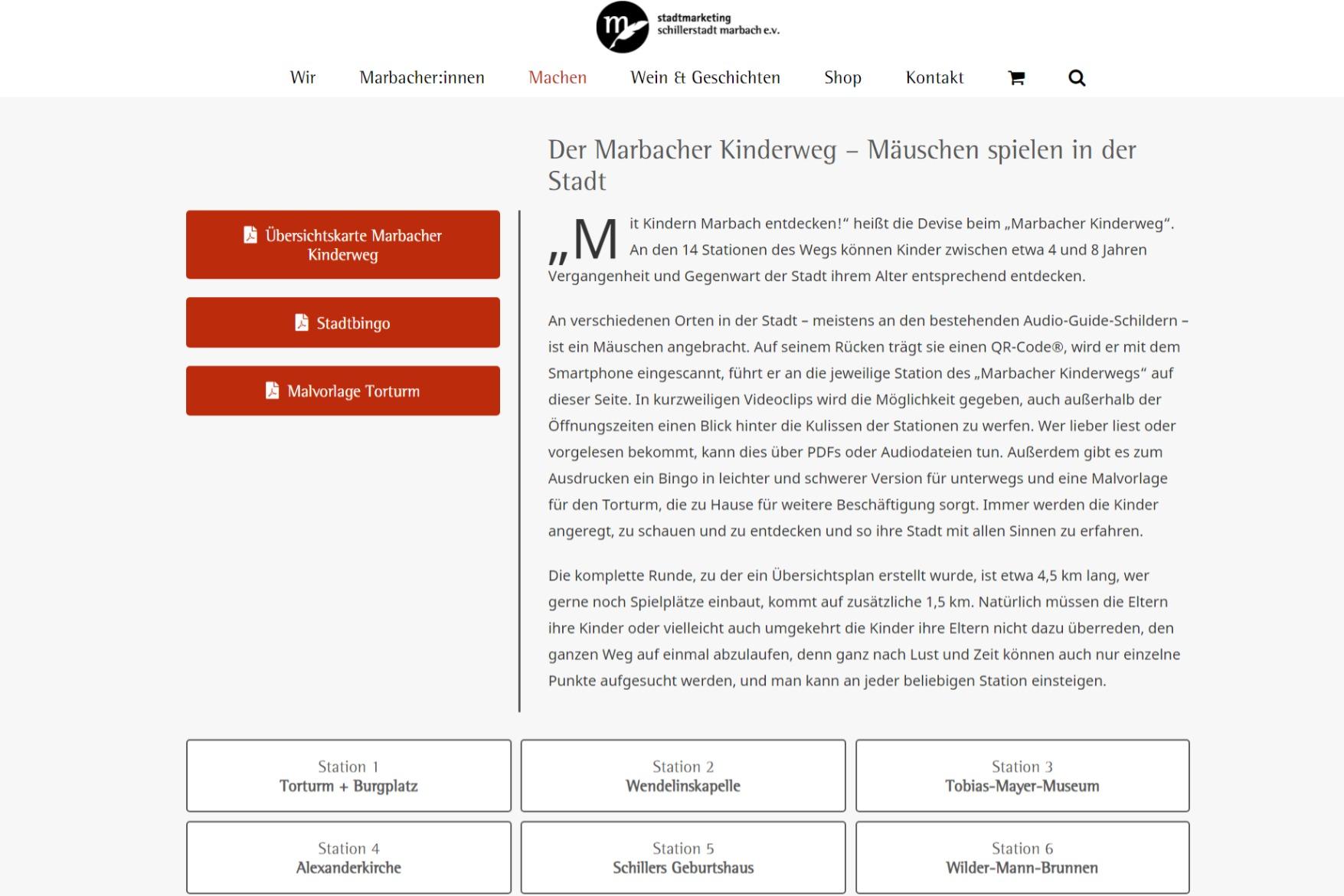 Stadtmarketing Marbach